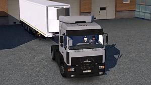 MAZ 54409 Rus truck