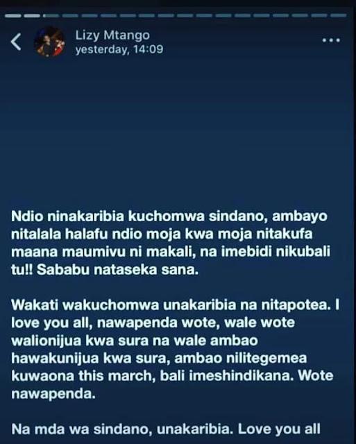 Mtanzania Afariki Kwa kuchomwa Sindano ya Sumu Kwa Hiari