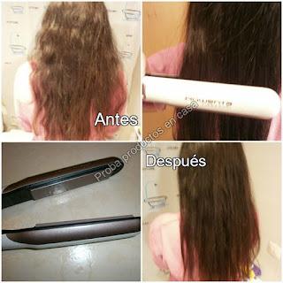 Rowenta liss&Curl efecto pelo