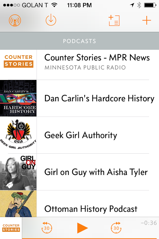 Collecting Narratives: Podcasts I'm Listening To Right Now