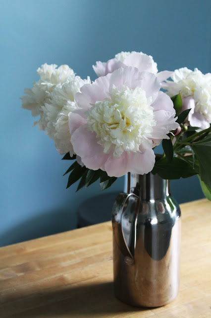 peonies, flowers, Anne Butera, My Giant Strawberry