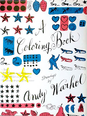 andy warhol coloring books
