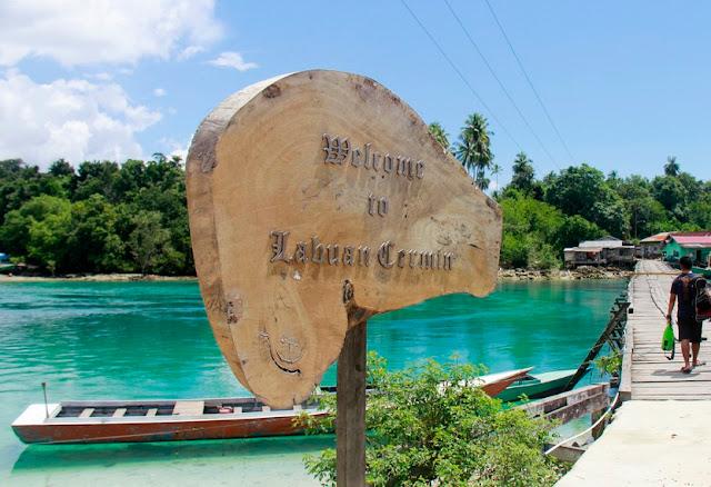 Pretty Lake Two Flavored, Labuan Cermin Lake