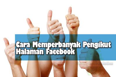 cara memperbanyak pengikut halaman facebook