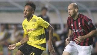 Video Gol AC Milan vs Borussia Dortmund 1-3 ICC 2017 China