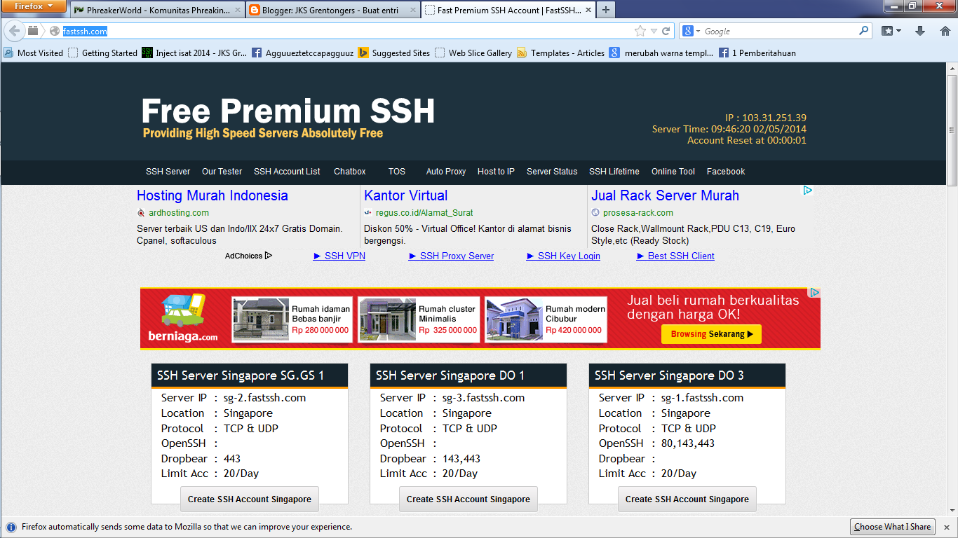 Free ssh usa