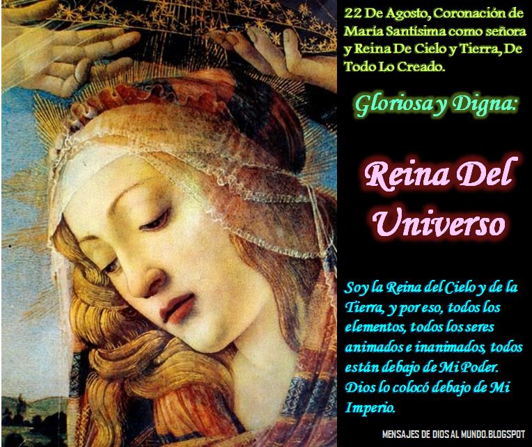 209f1280a Agosto  Mes del Inmaculado Corazón de María - (su fiesta Agosto 22 ...