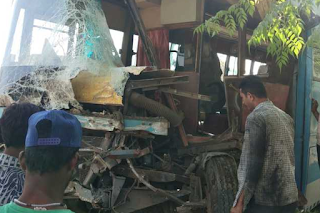30 employees of Panacea Biotech were injured in road mishap near Nalagarh