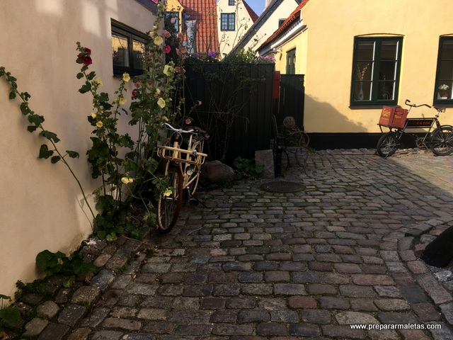 pueblo de Dragor Copenhague