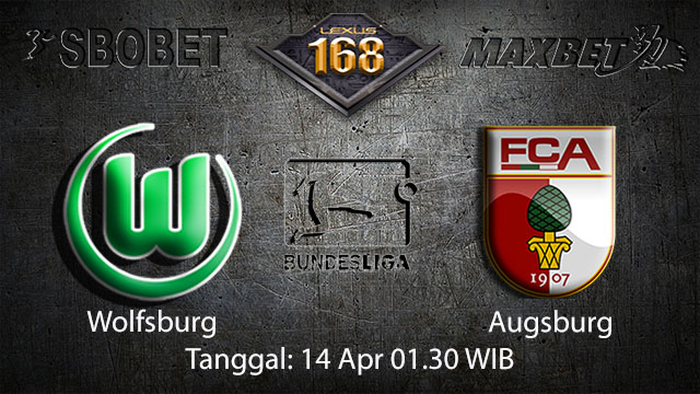 BOLA88 - PREDIKSI TARUHAN BOLA WOLFSBURG VS AUGSBURG 14 APRIL 2018 ( GERMAN BUNDESLIGA )