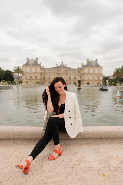 Alicia Mara at Jardin du Luxembourg in Paris