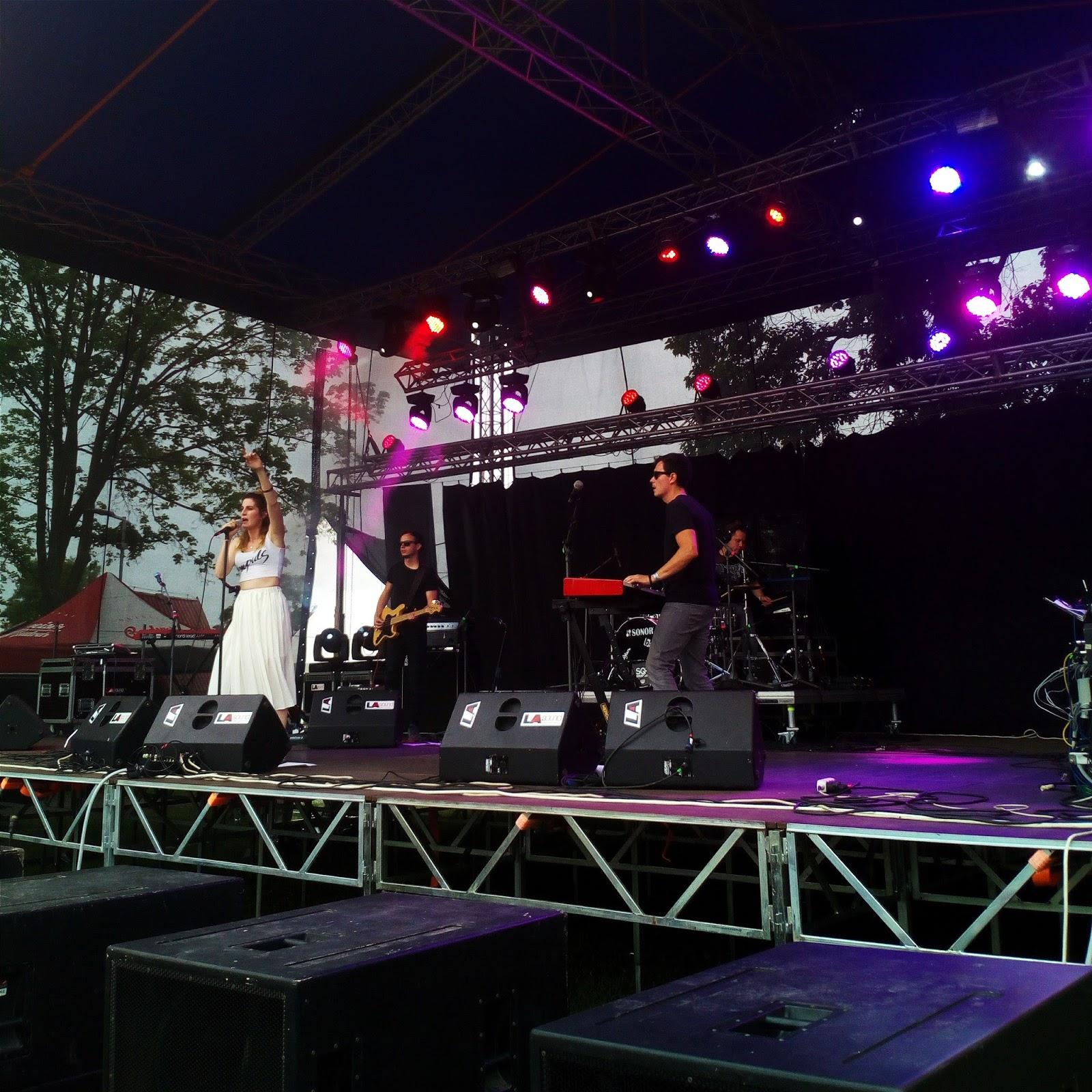 Hudební festival Fingers Up koncert Kláry Vytiskové