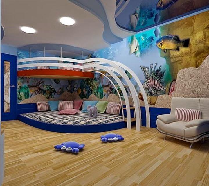 Lindos dormitorios para niños divertidos - Dormitorios colores y estilos