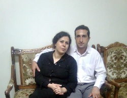 Pastor Nadarkhani and his wife