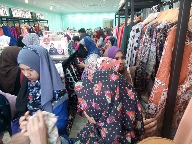 Gambar Majlis Pembukaan Butik Benang Hijau Wakaf Che Yeh, Kelantan