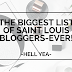 Blogger Insight: The Biggest List of Saint Louis Bloggers-Ever!!!