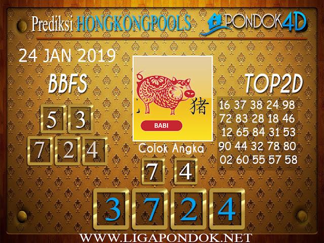 Prediksi Togel HONGKONG PONDOK4D 24 JANUARI 2019