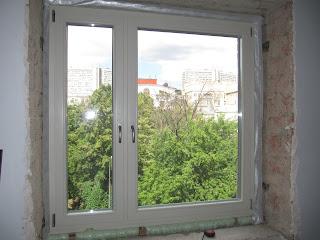 Сосновые деревоалюминиевые окна