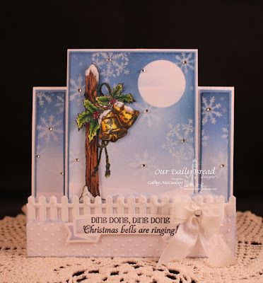 Stamps - Our Daily Bread Designs Jingle Bells, Sparkling Snowflakes, ODBD Fence Die