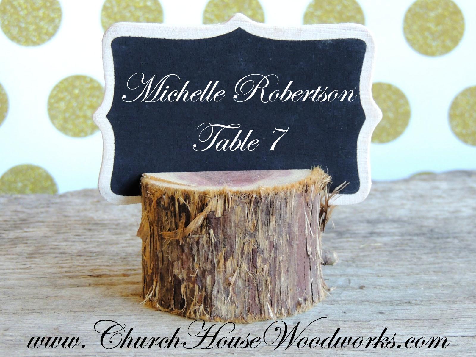 rustic 4 weddings 12 rustic cedar place card holders tree card