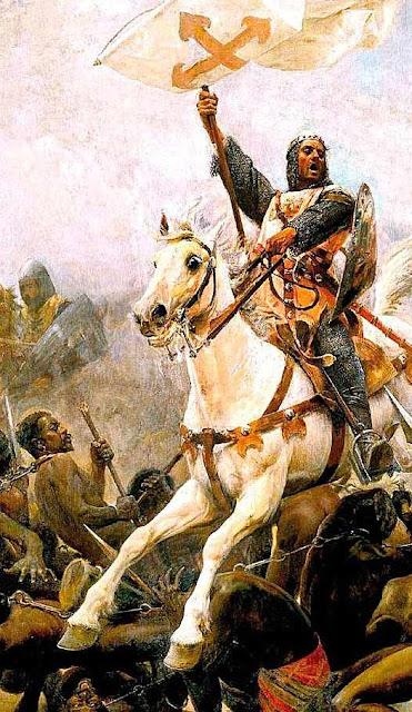 O rei Sancho de Navarra quebrando a elite maometana  tirou dos infiéis a vontade de resistir