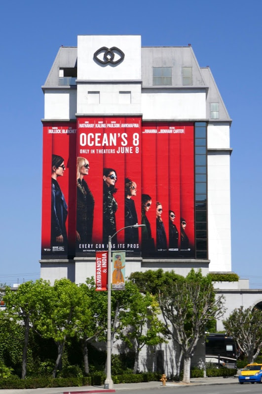 Giant Oceans 8 film billboard