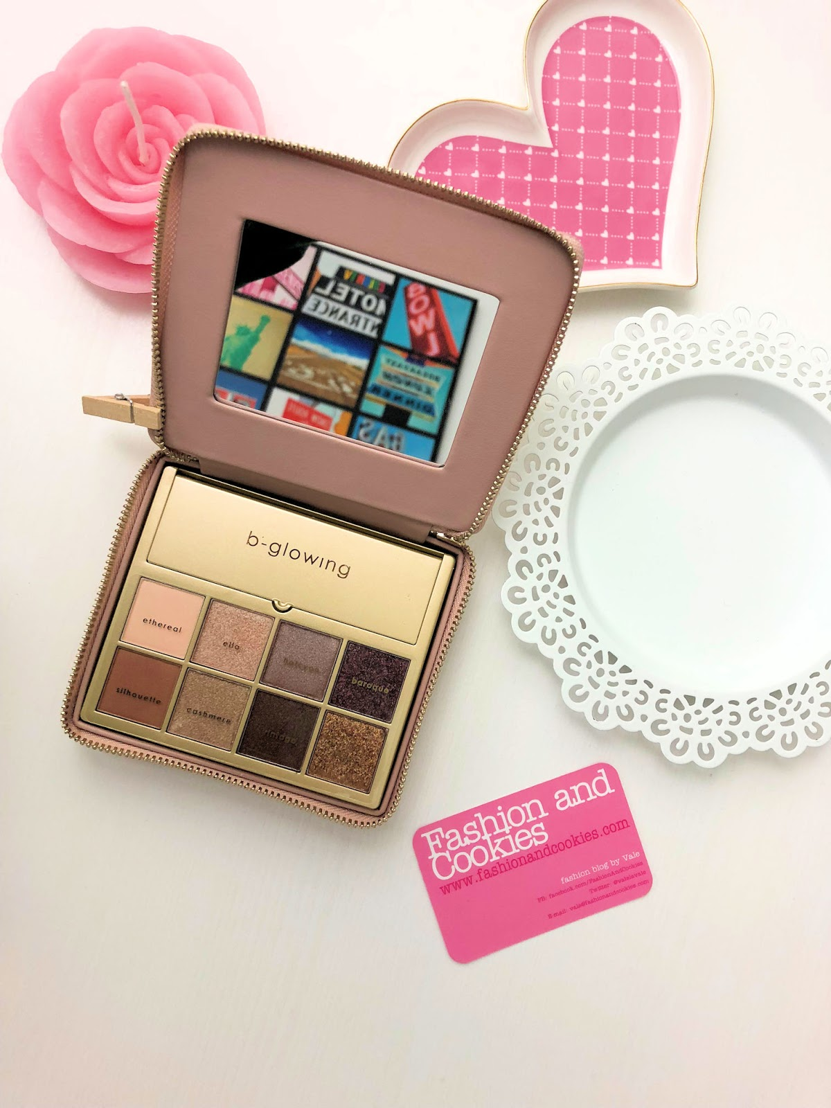 Best makeup for mature women: b-glowing Illuminate + Shine Palette review on Fashion and Cookies beauty blog, beauty blogger