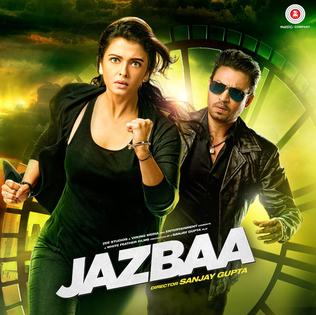 Aishwarya Rai Bachchan New Upcoming movie Jazbaa release 2015 Poster