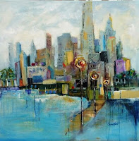 City Lights by Carol Hart