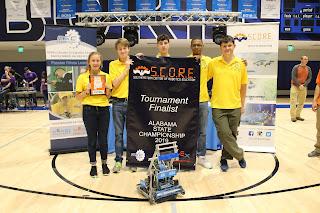 Montgomery Catholic Preparatory School Heads to Worldwide Robotics Competition 1