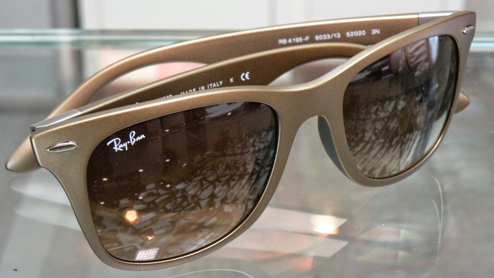 Ray Ban Lite Force RB4195F Brown with Brown Gradient Lenses