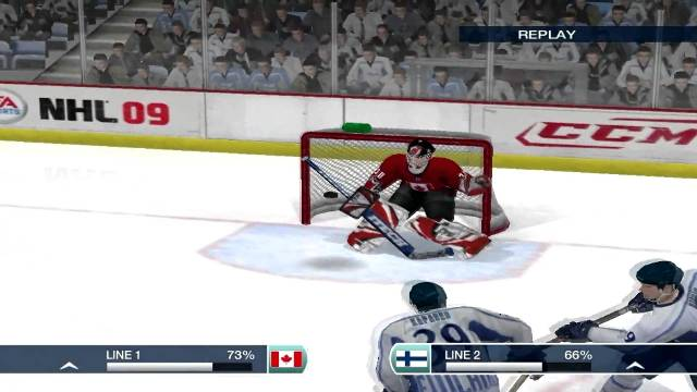 NHL 09 PC Games Gameplay
