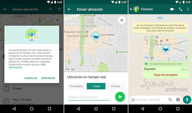 WhatsApp ya te permite compartir la ubicación en tiempo real: te enseñamos cómo activarlo