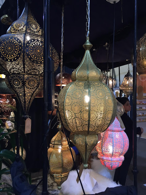 detailed metal lanterns in several colors