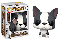 Funko Pop! French Bulldog Grey & White