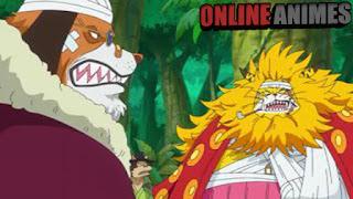 """774 """"A Batalha pela Defesa de Zou. Luffy e Zunisha!"""""""
