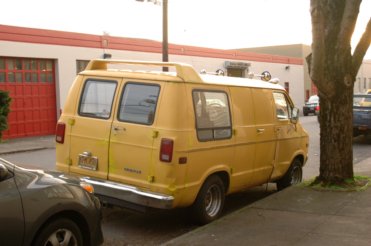 Old Parked Cars 1978 Dodge Ram Van