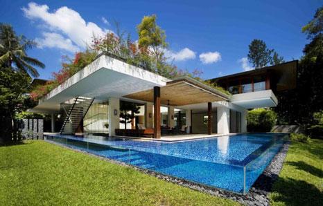 java propertindo: desain kolam renang minimalis