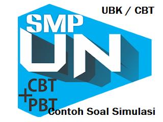 Contoh Soal Un SMP Terbaru