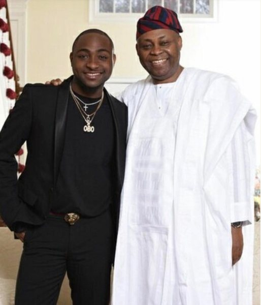 Davido celebrate Dad on his birthday