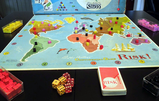 Risk first version 1959 - box content