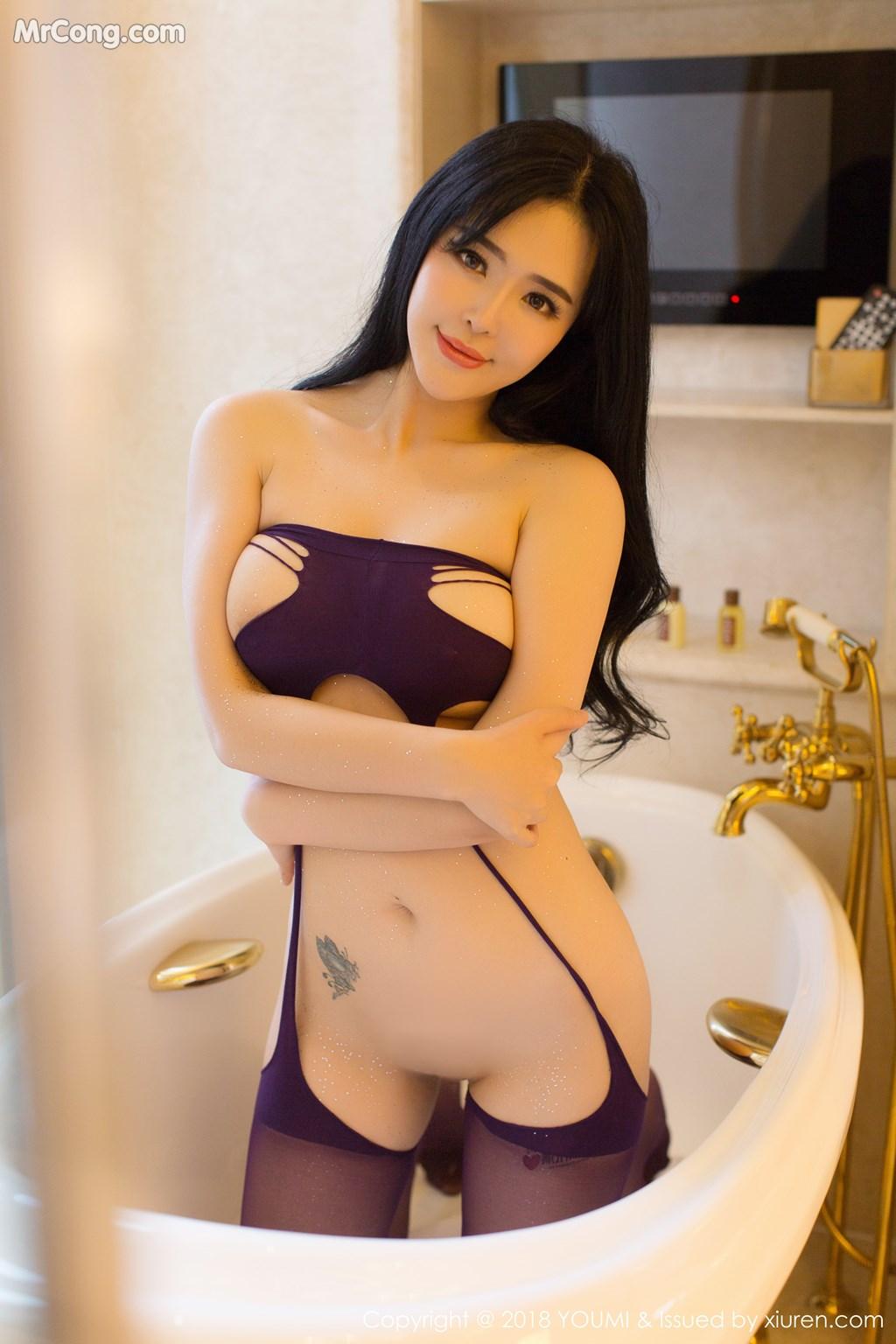 Image YouMi-Vol.124-Liu-Yu-Er-MrCong.com-025 in post YouMi Vol.124: Người mẫu Liu Yu Er (刘钰儿) (41 ảnh)