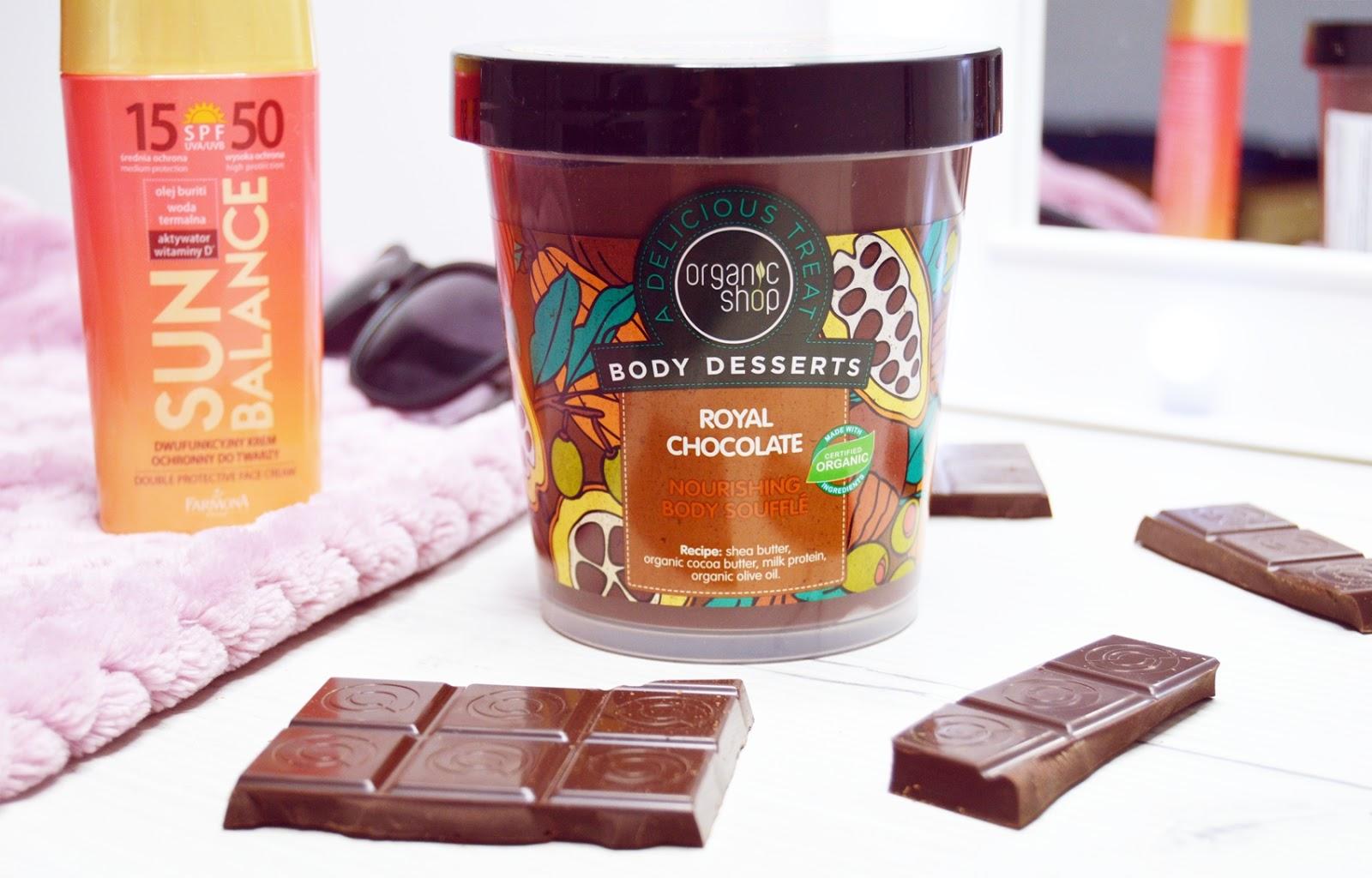 Idealny samoopalacz – czekoladowy suflet do ciała – Organic Shop