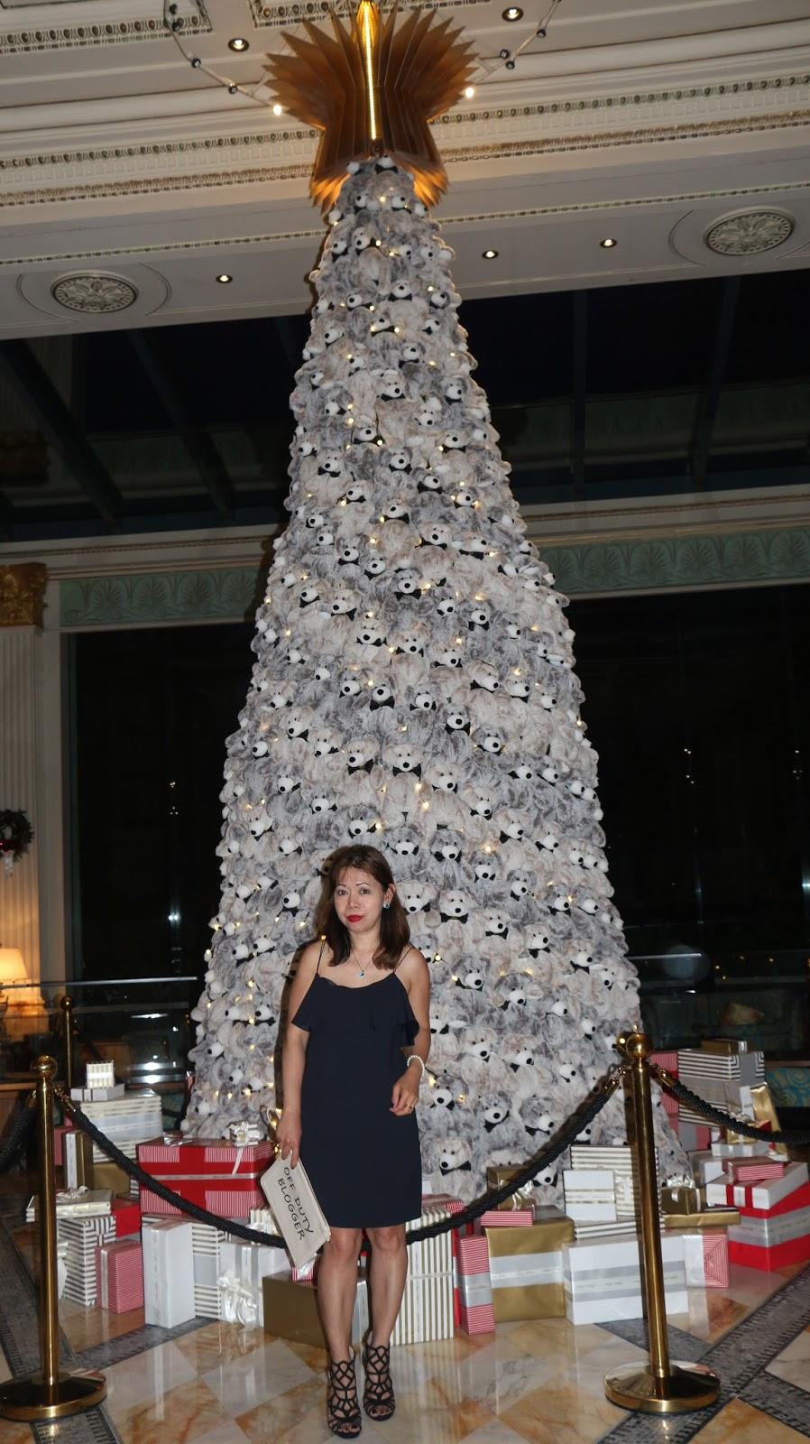 Stuffed toy Christmas tree