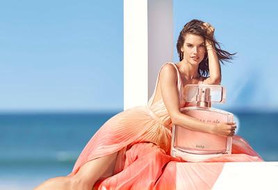 ¿Cuál es la fragancia de Alessandra Ambrosio?