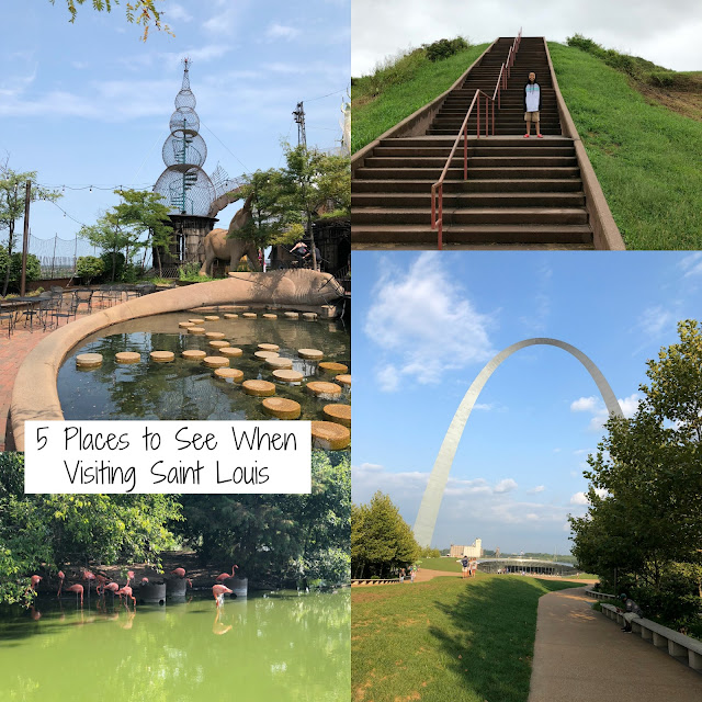 5 Places to See When Visiting Saint Louis, Missouri! Only a couple days in Saint Louis? Check out the fun and amazing places we visited!