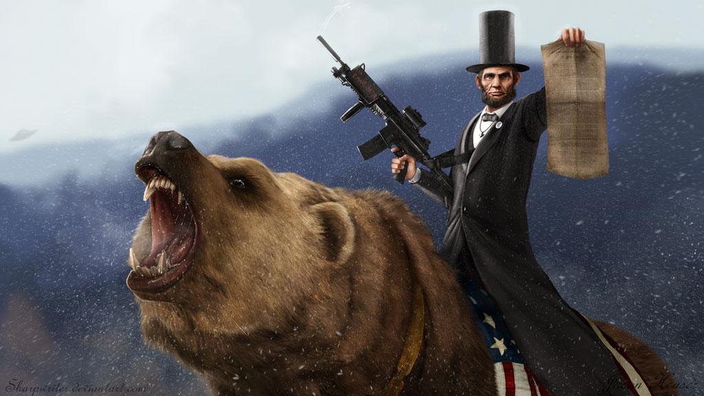 Culture kills    wait, I mean cutlery: Kickass Presidents With Guns
