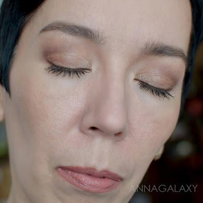 Коричневый макияж с Палеткой теней Makeup Revolution Re-Loaded Basic Mattes