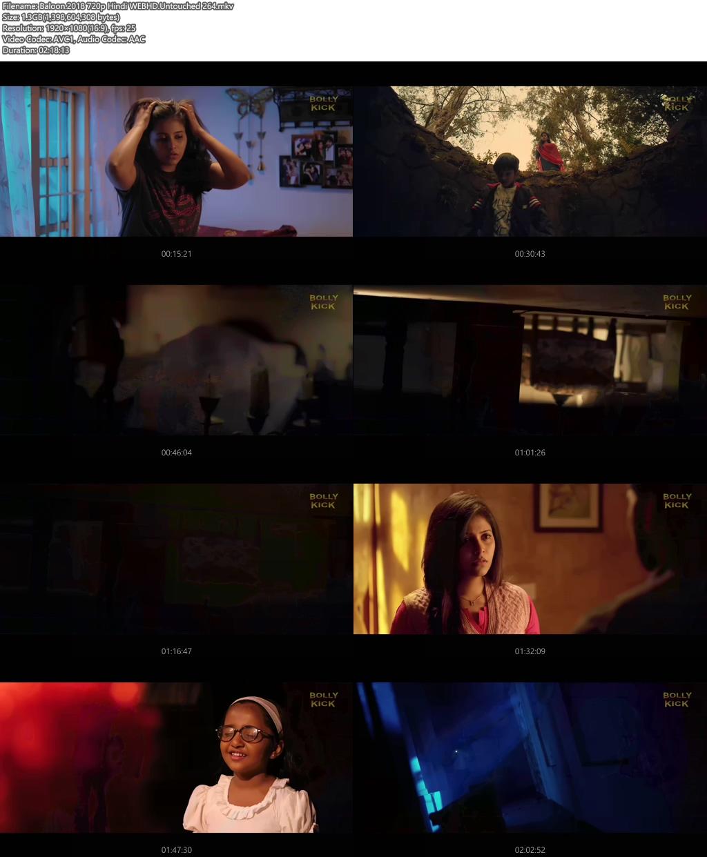 Baloon 2018 720p Hindi WEBHD x264 | 480p 300MB | 100MB HEVC Screenshot