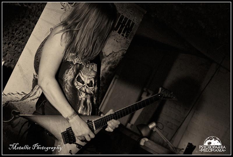 Mortimer Baud @Voice Of Ruin, Metal Corporation Fest 2015 - METAL, MCP Apache, Fontaine-L'Évêque, Belgique 29/08/2015
